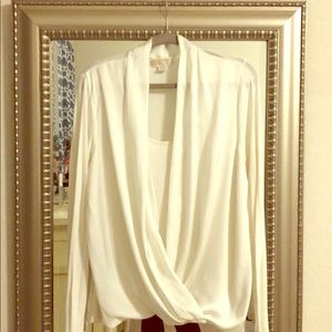 Long Sleeve Michael Kors Blouse